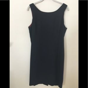 TRIO New York Black Sleeveless Lined Dress. 14
